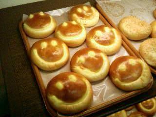 Bakery House Sweet Sweetのスマイリーパン