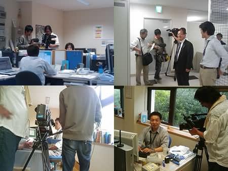 UMKテレビ撮影