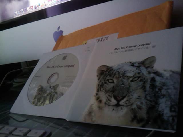 Mac OS X Show Leopardが届く