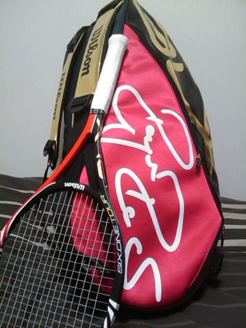 Six.One Tour BLX 90 と FEDERER SUPER SIX(9本用)