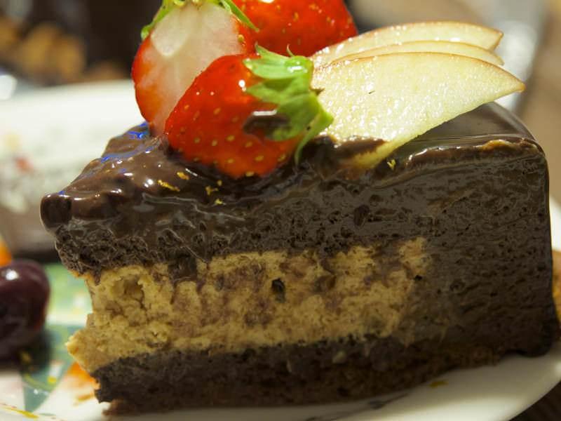 クレアスイーツのチョコレートケーキ 1ピース